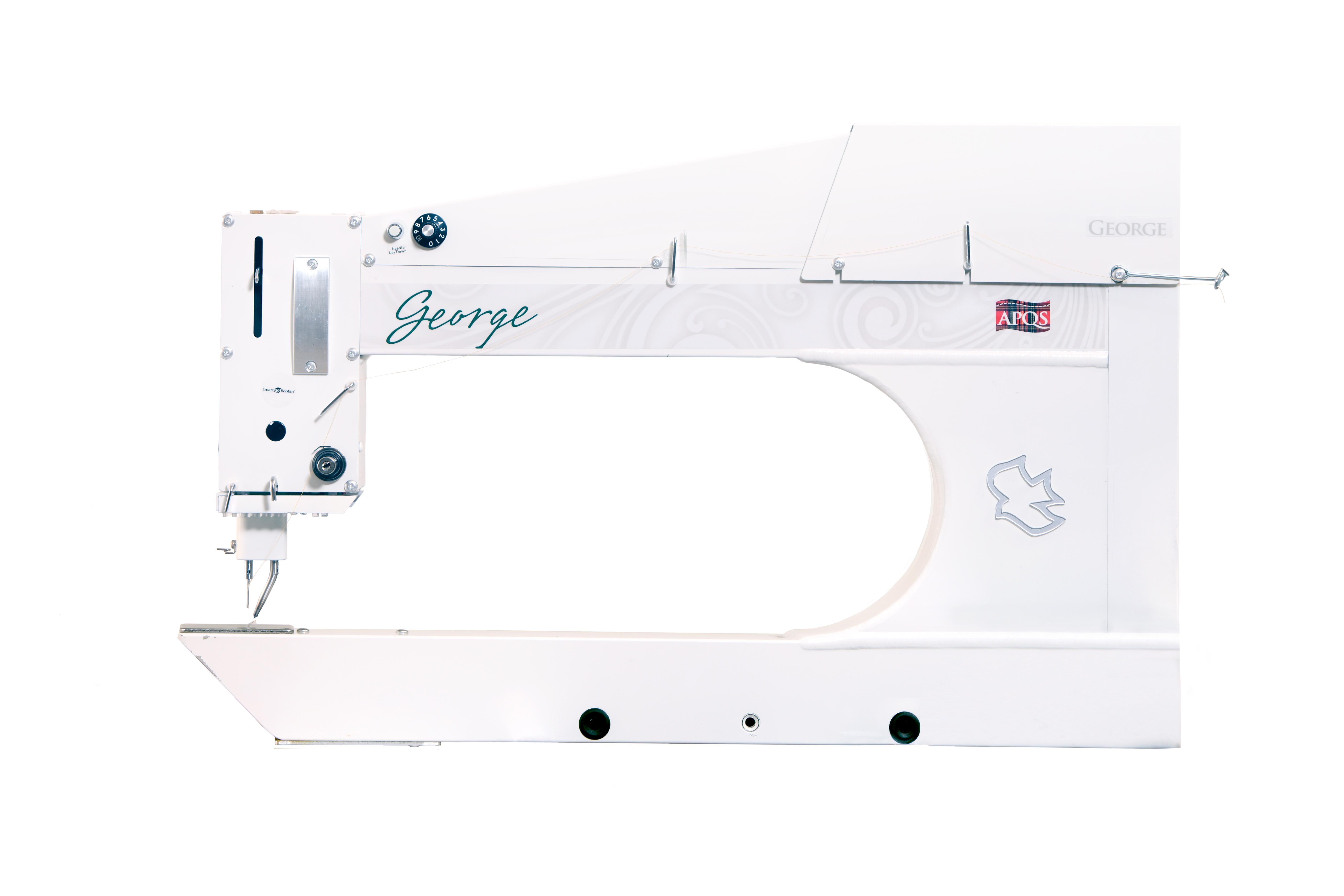 APQS Longarm Quilting Machines : george quilting machine - Adamdwight.com