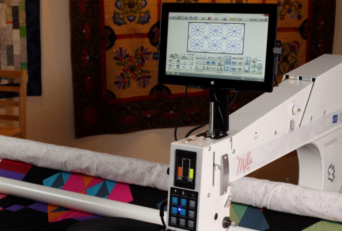APQS Quilt Path computerized quilting system